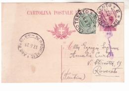 Cartolina Da Borgo Valsugana Con Ambulante Bassano-Trento K367 - Marcophilie
