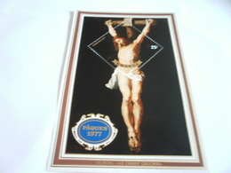 Miniature Sheet Perf Easter 1977 Rubens Christ Crucified - Rwanda