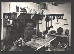 Montquintin - Musée De La Vie Paysanne - Cuisine: Feu à âtre, Ustensiles - Photo Véritable - Rouvroy