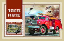 GUINEA BISSAU 2018 - Fire Engines, World War I - YT BF1396; CV=19 € - WW1