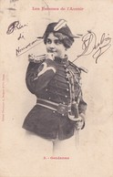 """Les Femmes D'Avenir """" GENDARME N° 3 * Avec Belle Oblitération De REIMS GARE Au Verso - 2 Scans - Police - Gendarmerie"""