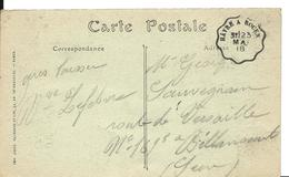Guerre 14 18 LE HAVRE ROUEN Convoyeur De Ligne LE HAVRE à ROUEN Mai 1918 ...G - Marcophilie (Lettres)