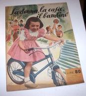 Rivista Moda - La Donna La Casa Il Bambino N. 5 - 1953 Tavole Annesse E Cartamod - Libri, Riviste, Fumetti