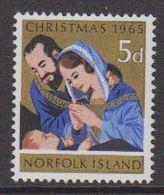 Norfolk Island 1965 Christmas 1v  ** Mnh (42815) - Norfolk Eiland