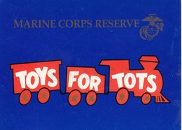 Marine Corps Reserve , Toys For Tots , 60-70s - Advertising