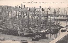 ¤¤  -  ILE-de-GROIX   -  Aspect Du Port Avant Le Départ De La Flotille  -  Bateaux De Pêches     -   ¤¤ - Groix