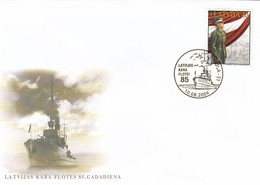 GOOD LATVIA Special Stamped Cover 2004 - Navy - Latvia