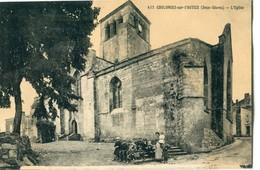 79 - Coulonges Sur L' Autize : L' Eglise - Coulonges-sur-l'Autize