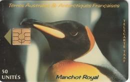 Télécarte TAAF FSAT - Manchot Royal ... Pingouin Penguin Pinguin ... - TAAF - French Southern And Antarctic Lands