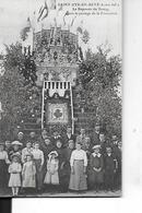 SAINT CYR EN RETZ  LE REPOSOIR DU BOURG   APRES PASSAGE PROCESSION PERSONNAGES GROS PLAN    DEPT 44 - Saint-Lyphard