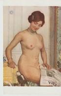 C.P.A. - SALON DE PARIS - 1399 - Mlle R. M. GUILLAUME - CONVOITISE - LAPINA - S. P. A. - COVETOUSNESS - VERLANGEN - IL G - Peintures & Tableaux