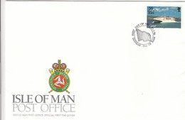 GOOD ISLE Of MAN FDC 1996 - Seacat / Ship - Isle Of Man