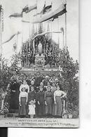 SAINT CYR EN RETZ  LE REPOSOIR DE Mme Guilbaud    APRES PASSAGE PROCESSION PERSONNAGES GROS PLAN    DEPT 44 - Saint-Lyphard