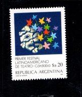 771312992 1986 SCOTT 1480 POSTFRIS  MINT NEVER HINGED EINWANDFREI  (XX) - FIRST LATIN AMERICAN THEATER FESTIVAL - Neufs