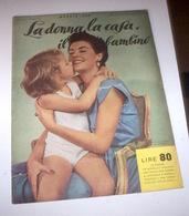 Rivista Moda - La Donna La Casa Il Bambino N. 5 - 1955 - Libri, Riviste, Fumetti