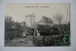 CPA 47 LOT ET GARONNE XAINTRAILLES. Vue Du Château. 1908. - France