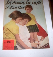 Rivista Moda - La Donna La Casa Il Bambino N. 4 - 1958 - Libri, Riviste, Fumetti