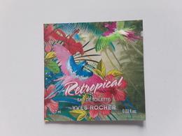 "YVES  ROCHER   "" Retropical""  Pochette Parfumée  ! - Perfume Cards"
