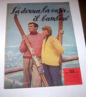 Rivista Moda - La Donna La Casa Il Bambino N. 1 - 1958 - Libri, Riviste, Fumetti