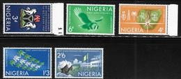 Nigeria 1961 First Anniversary Of Independence MNH - Nigeria (1961-...)