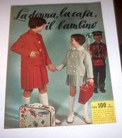 Rivista Moda - La Donna La Casa Il Bambino N. 8 - 1959 - Libri, Riviste, Fumetti