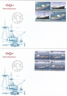 GOOD ICELAND FDC 2007 - Ships - FDC