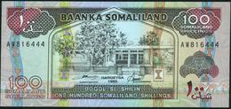 SOMALILAND - 100 SL Shilin / Shillings 1996 UNC P.5 B - Somalia