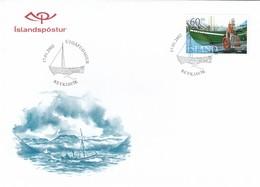 GOOD ICELAND FDC 2002 - Ship - FDC