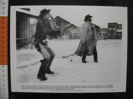 Photo Argentique CINEMA 1985 Costner Kline SILVERADO Movie COW BOYS WESTERN - Photos