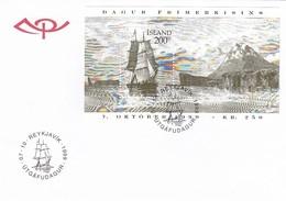 GOOD ICELAND FDC 1999 - Ship - FDC