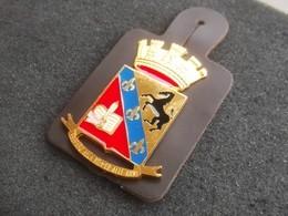 Scudetto Da Giacca E.I. Scuola Militare Nunziatella Nuovo Originale Completo - Esercito