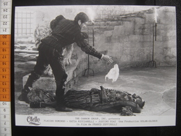 Photo Argentique CINEMA 1986 Placido Domingo Zeffirelli OTELLO Movie OTHELLO - Photos