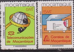 Mozambico Post Correo Set  MNH - Philately & Coins