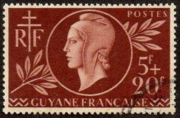 Détail De La Série Entraide Française Obl. Guyane N° 179 - Marianne De Dulac - 1944 Entraide Française