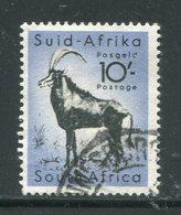 AFRIQUE DU SUD- Y&T N°214- Oblitéré (égocère Noir) - Oblitérés