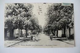CPA 47 LOT ET GARONNE STE BAZEILLE. SAINTE BAZEILLE. Boulevard Thiers. 1907. - France