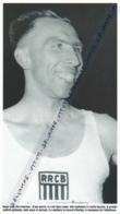 ATHLETISME : PHOTO (1955), RECORD DU MONDE DU 800 METRES POUR LE BELGE ROGER MOENS A OSLO - Athlétisme