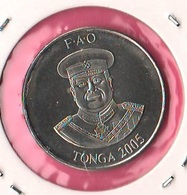 10 Senti  FAO 2005 Tonga - Tonga