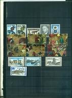 BELGIQUE EUROPA 67 -ANNIVERSAIRES-SOLIDARITE 67-RFIFICES HISTORIQUES ET MODERNES 15 VAL NEUFS A PARTIR DE 0.75 EUROS - Belgio