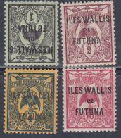 Wallis Et Futuna N° 1 / 3 + 5  XX Partie De Série :  Les 5 Valeurs Sans  Charnière, TB - Wallis-Et-Futuna