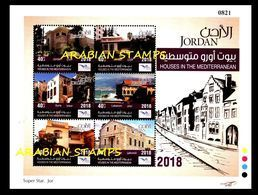 JORDAN JORDANIE 2018 JOINT ISSUE EUROMED POSTAL EURO MED LEBANON CYPRUS MALTA GREECE CYPRUS SPAIN CROATIA - Jordanien