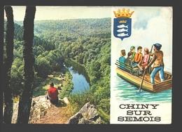 Chiny Sur Semois - Les Passeurs Réunis - Société Coopérative - Carte Publicitaire Saison 1977 - Chiny