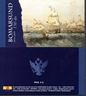 Aland Finland 236/39 Carnet Voiliers, Guerre - History