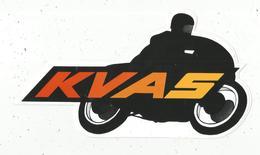 Autocollant , MOTO ,  KVAS , 235 X 130 Mm , Frais Fr  1.55 E - Stickers