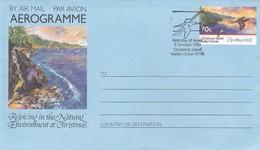 GOOD CHRISTMAS ISLAND Aerogramme 1992 - Christmas / Birds - Christmas Island
