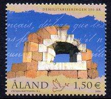 Aland Finland 263 Paix, Démilitarisation - History