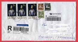 Lietuva, Litauen, 2009, Registered - Lithuania