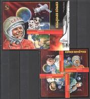 R287 2012 GUINE GUINEA-BISSAU SPACE OUTER SPACE ESPACO SOVIETICO KB+BL MNH - Space