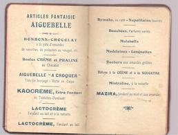 Agenda 1931 édité Par La Chocolaterie D'Aiguebelle Avec Calendrier, Recettes De Gâteaux (non écrit) - Altri