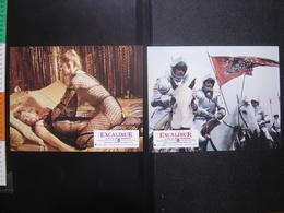 Photos D'exploitation CINEMA Boorman EXCALIBUR Lobby Cards Erotism Sexy Cheval - Photos